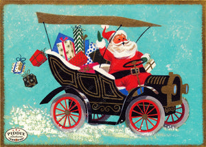 PDXC19124a -- Santa Claus Color Illustration