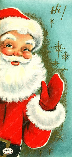 PDXC19126a -- Santa Claus Color Illustration