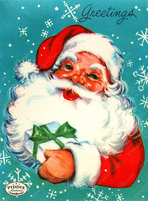 PDXC19127a -- Santa Claus Color Illustration