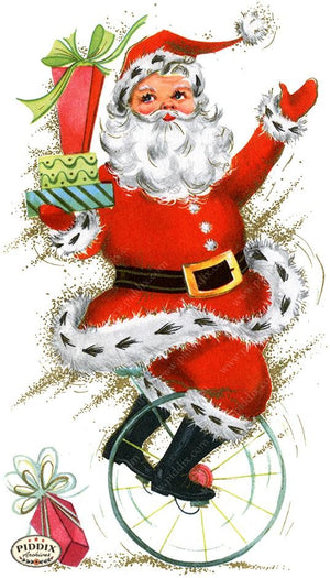 PDXC19128a -- Santa Claus Color Illustration