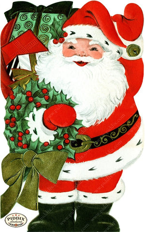PDXC19129c -- Santa Claus Color Illustration