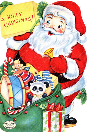 PDXC19130a -- Santa Claus Color Illustration