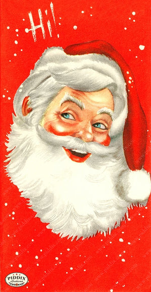 PDXC19134b -- Santa Claus Color Illustration