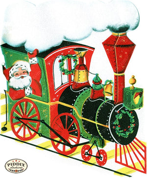 PDXC19136a -- Santa Claus Color Illustration