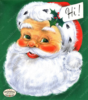 PDXC19137b -- Santa Claus Color Illustration