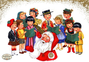 PDXC19138a -- Santa Claus Color Illustration