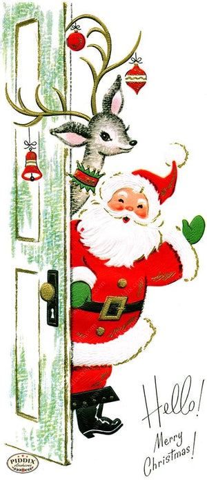 PDXC19140a -- Santa Claus Color Illustration