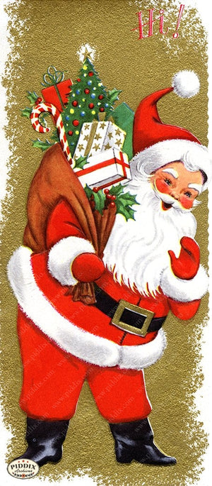 PDXC19141b -- Santa Claus Color Illustration