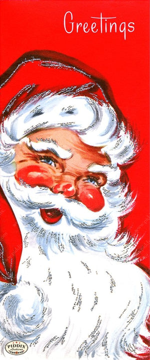 PDXC19142b -- Santa Claus Color Illustration