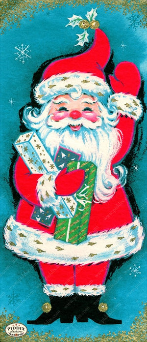 PDXC19146a -- Santa Claus Color Illustration