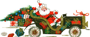 PDXC19148a -- Santa Claus Color Illustration