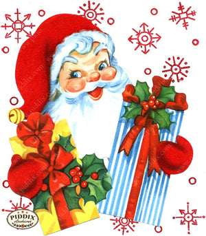 PDXC19158c -- Santa Claus Color Illustration