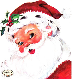 PDXC19169a -- Santa Claus Color Illustration
