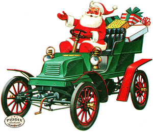 PDXC19178a -- Santa Claus Color Illustration