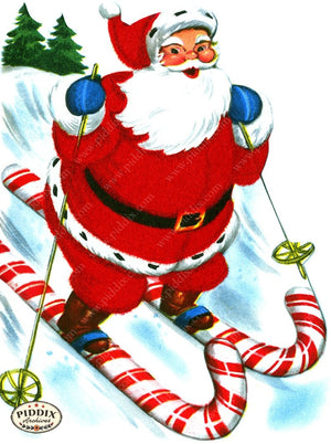 PDXC19179a -- Santa Claus Color Illustration