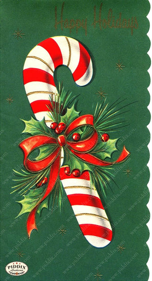 PDXC19190a -- Christmas Candy Color Illustration