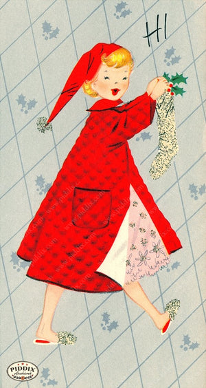 PDXC19458a -- Christmas Color Illustration