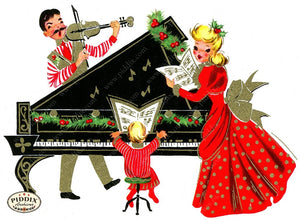 PDXC19459a -- Christmas Color Illustration