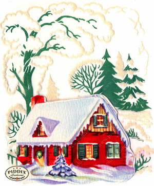 PDXC19467a -- Snowy Scenes Color Illustration