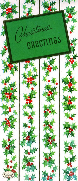 PDXC19468a -- Christmas Patterns Color Illustration