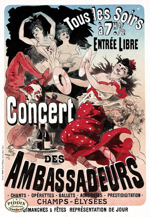 PDXC19490-- French Posters Poster