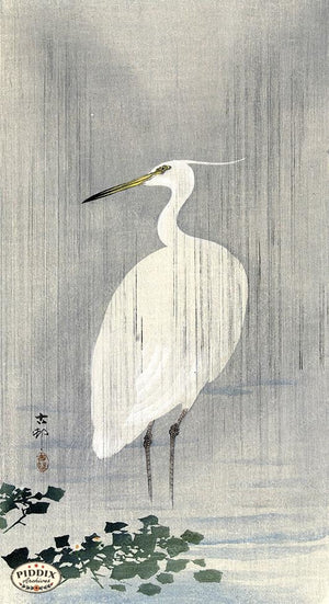 PDXC19619 -- Japanese Bird Woodblock