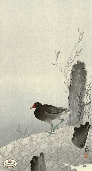 PDXC19735 -- Japanese Bird Woodblock