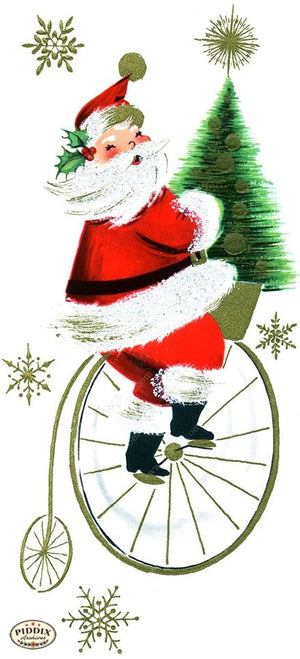 PDXC19872a -- Santa Claus Color Illustration