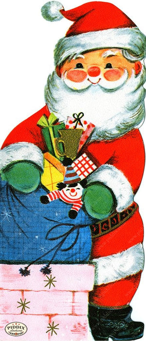 PDXC19897a -- Santa Claus Color Illustration