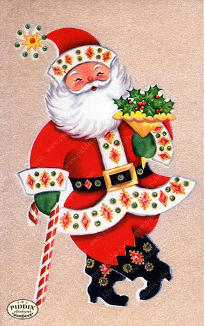 PDXC19899a -- Santa Claus Color Illustration