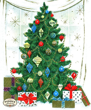 PDXC19901a -- Christmas Color Illustration