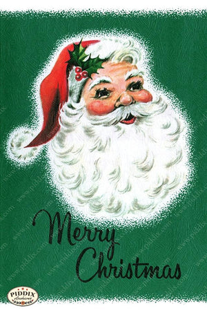 PDXC19903a -- Santa Claus Color Illustration