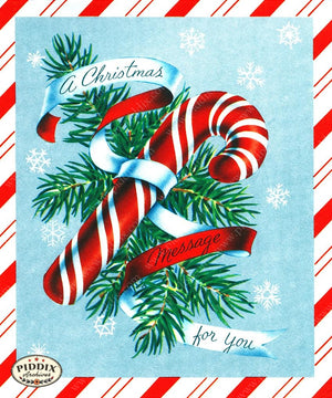 PDXC19904a -- Christmas Candy Color Illustration
