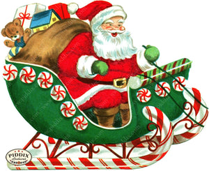 PDXC19906a -- Santa Claus Color Illustration