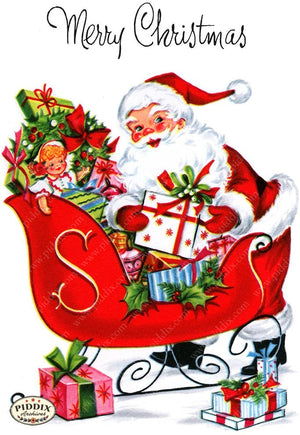 PDXC19908a -- Santa Claus Color Illustration