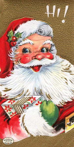 PDXC19912a -- Santa Claus Color Illustration
