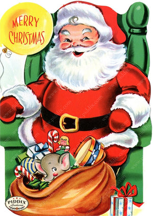 PDXC19915a -- Santa Claus Color Illustration