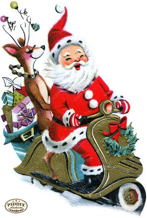 PDXC19917a -- Santa Claus Color Illustration