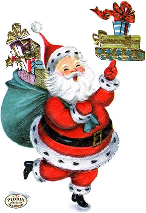 PDXC19917b -- Santa Claus Color Illustration