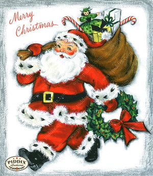 PDXC19918a -- Santa Claus Color Illustration