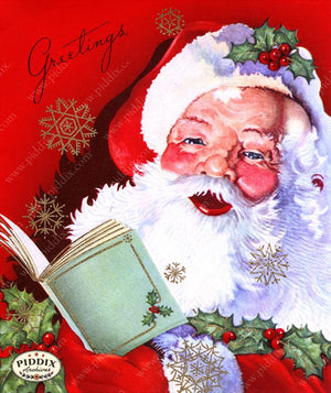 PDXC19923a -- Santa Claus Color Illustration