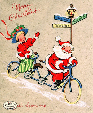 PDXC19930a -- Santa Claus Color Illustration