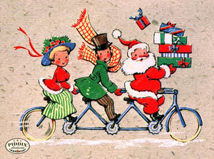 PDXC19930b -- Santa Claus Color Illustration