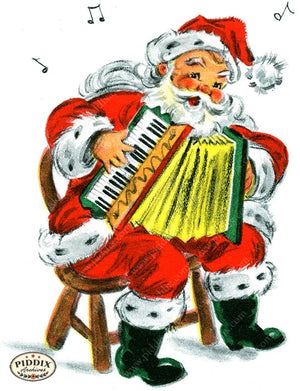 PDXC19937a -- Santa Claus Color Illustration