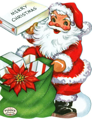 PDXC19938a -- Santa Claus Color Illustration