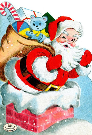 PDXC19945a -- Santa Claus Color Illustration