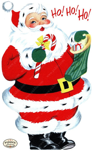 PDXC20119a -- Santa Claus Color Illustration