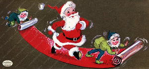 PDXC20120a -- Santa Claus Color Illustration