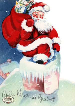 PDXC20127a -- Santa Claus Color Illustration