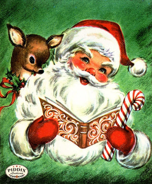PDXC20135a -- Santa Claus Color Illustration